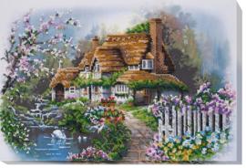 KRALEN BORDUURPAKKET HOUSE AT THE LAKE - ABRIS ART