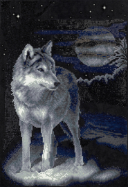 DIAMOND PAINTING WOLF - FREYJA CRYSTAL
