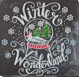 KRALEN BORDUURPAKKET WINTER WONDERLAND - ABRIS ART