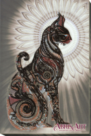 KRALEN BORDUURPAKKET BAST BLACK - ABRIS ART