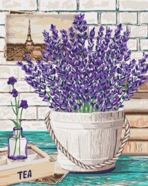 Wizardi Paint-By-Numbers Lavender Aroma