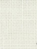 BORDUURSTOF MINSTER LINNEN 36 COUNT - WHITE - FABRIC FLAIR