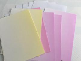 Verloopkaarten met envelop (6)