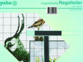 MAGNETISCHE REGELTELLER 23X23CM