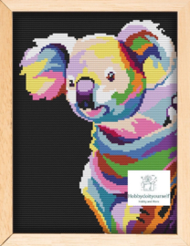 Borduurpakket Colourful KOALA