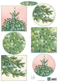 Marianne D 3D Knipvellen Kerstbomen