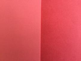 DUO Scrap karton 30 x 30 cm oudrose donker/licht