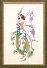 BORDUURPATROON JULY'S AMETHYST FAIRY - MIRABILIA DESIGNS