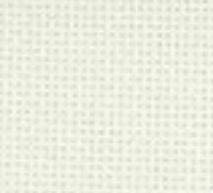 Borduurstof Evenweave  WIT per meter 20 count (4 kruisjes per cm)