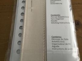 Borduurband AIDA 16 count 5cm ecru (5meter)