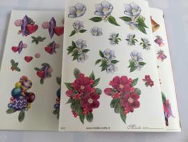 3D kerstboek voor 32:kaarten