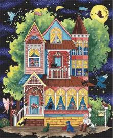 Borduurpakket LETI 937 Fairy Tale House