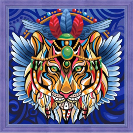 DIAMOND PAINTING KIT TIGER AZ-1593