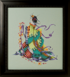 MISS DANCING FLOWER - MIRABILIA DESIGNS (MATERIAALPAKKET)