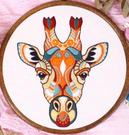 Giraffe - Embroidery (Giraf)
