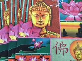 Servet boeddha(pakje 5)