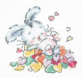 BUNNY BATHED IN LOVE