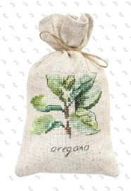 BAGS - OREGANO (weefstof) Kruidenzakje