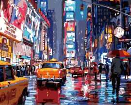 PAINT BY NUMBER NEW YORK 50 x 40 cm