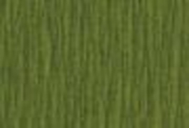 Folia Crepepapier OLIJFGROEN - 250 x 50 cm