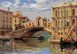 Voorbedrukt stramien After Antonietta Brandeis - RIALTO BRIDGE 50 x 70