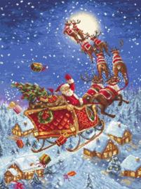 Borduurpakket LETI 958 The Reindeer on their Way!