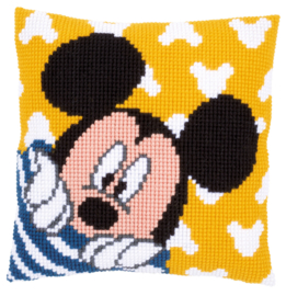 KRUISSTEEKKUSSEN KIT DISNEY MICKEY MOUSE
