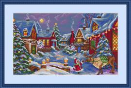BORDUURPAKKET THE CHRISTMAS GIFT -MEREJKA