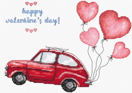 BorduurpakketLETI 983 Happy Valentine's Day