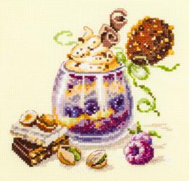 BORDUURPAKKET  CHOCOLATE DESSERT - CHUDO IGLA