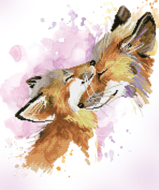 DIAMOND DOTZ FOX BLISS - NEEDLEART WORLD