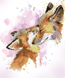 DIAMOND DOTZ FOX BLISS - NEEDLEART WORLD