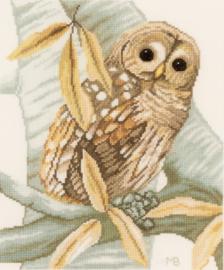 Marjolein Bastin - Uil met Herfstbladeren