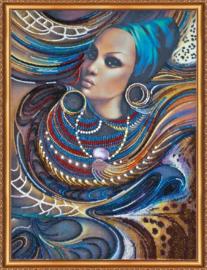 KRALEN BORDUURPAKKET COLORS OF AFRICA - ABRIS ART
