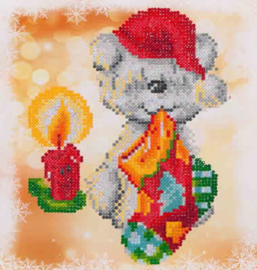 DIAMOND DOTZ SNOW FAMILY - NEEDLEART WORLD