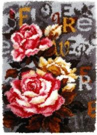 KNOOPKLEED ORCHIDEA -  FLOWER 50 x 75 cm