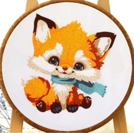 Fox - Embroidery (Vosje)