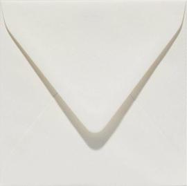 Papicolor Envelop vierkant 14cm anjerwit 105gr pak/6 st