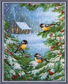 KRALEN BORDUURPAKKET JANUARY COLD - ABRIS ART
