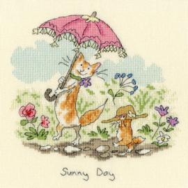 BORDUURPAKKET ANITA JERAM - SUNNY DAY - BOTHY THREADS