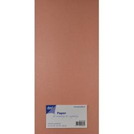 Metallic Cardstock 15 x 30 cm (pak van 20) rose