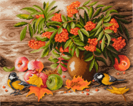 DIAMOND PAINTING AUTUMN STILL LIFE - FREYJA CRYSTAL