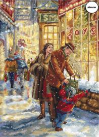 Borduurpakket LETI 943 Christmas Expectation