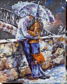 KRALEN BORDUURPAKKET ROMANTICS - ABRIS ART