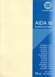 BORDUURSTOF AIDA 16 COUNT - ECRU - RTO