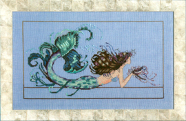 BORDUURPATROON MERMAID UNDINE - MIRABILIA DESIGNS