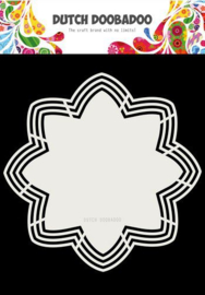 Dutch Doobadoo Dutch Shape Art Octo Flower 21x21 470.713.177