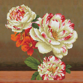 DIAMOND DOTZ KUSSEN CAMELLIA & LILLY BOUQUET - NEEDLEART WORLD