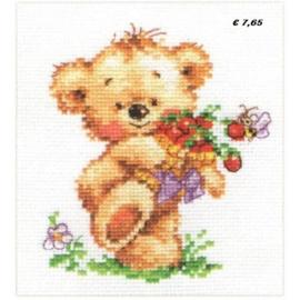 SWEETH TOOTH TEDDY BEAR S0-71 - ALISA
