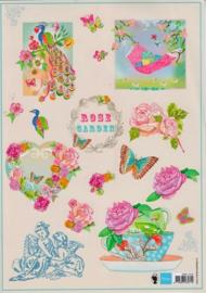 Knipvel Rose Garden - Marianne Design